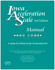 Iowa Acceleration Scale Cover
